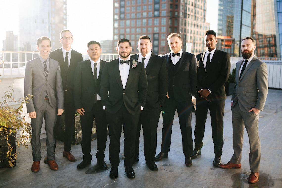 Cool Loft Wedding In New York by Chaz Cruz Photographers 11