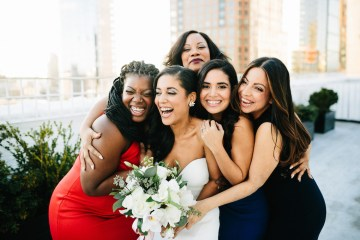 Cool Loft Wedding In New York by Chaz Cruz Photographers 12