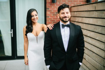 Cool Loft Wedding In New York by Chaz Cruz Photographers 37