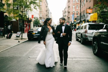 Cool Loft Wedding In New York by Chaz Cruz Photographers 43