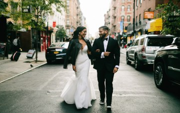 Cool, Stylish & Fun Filled Loft Wedding In New York