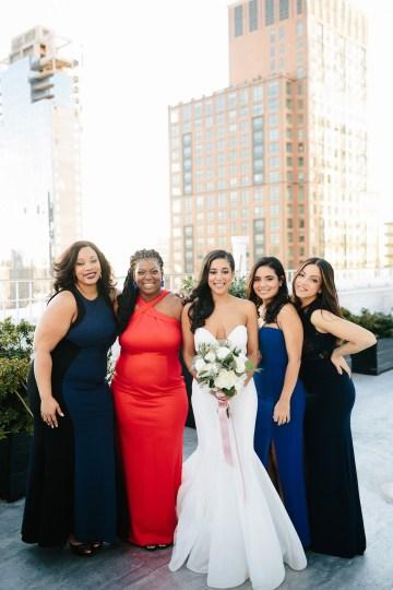 Cool Loft Wedding In New York by Chaz Cruz Photographers 45