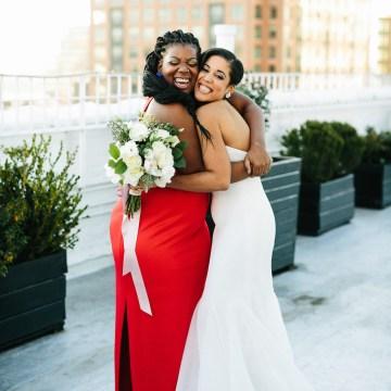 Cool Loft Wedding In New York by Chaz Cruz Photographers 47