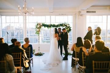 Cool Loft Wedding In New York by Chaz Cruz Photographers 53