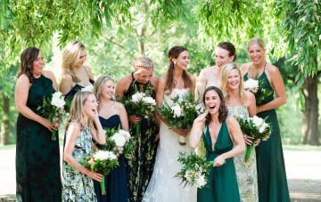 Jungle-Inspired Wedding by Asya Photography 21