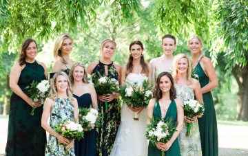 Jungle-Inspired Wedding by Asya Photography 22