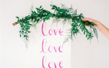 Minimalist Wedding Inspiration from Love & 50