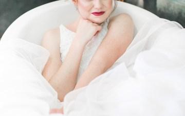 Modern LA Wedding Inspiration Hannah Q. Photography 32