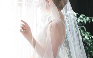 Modern LA Wedding Inspiration Hannah Q. Photography 9
