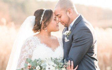Romantic Winter Wedding by Audrey Rose Photography 10