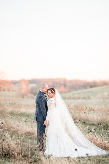 Romantic Winter Wedding by Audrey Rose Photography 53