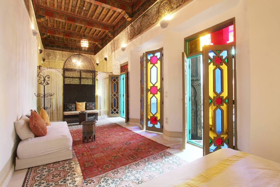 10 Incredible & Affordable Airbnb Wedding Venues Around the World | Marrakech Riad 6