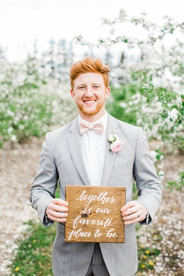 Bright and Colorful Apple Blossom Orchard Wedding Inspiration | Shanell Photography & Mitten Weddings and Events 23