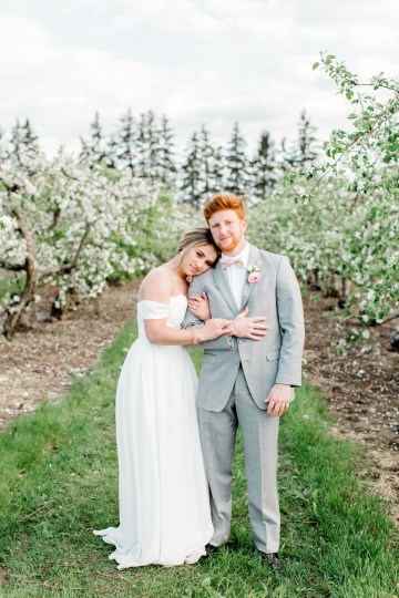 Bright and Colorful Apple Blossom Orchard Wedding Inspiration | Shanell Photography & Mitten Weddings and Events 35