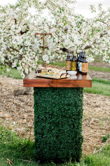 Bright and Colorful Apple Blossom Orchard Wedding Inspiration | Shanell Photography & Mitten Weddings and Events 36