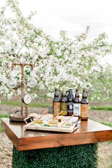 Bright and Colorful Apple Blossom Orchard Wedding Inspiration | Shanell Photography & Mitten Weddings and Events 37