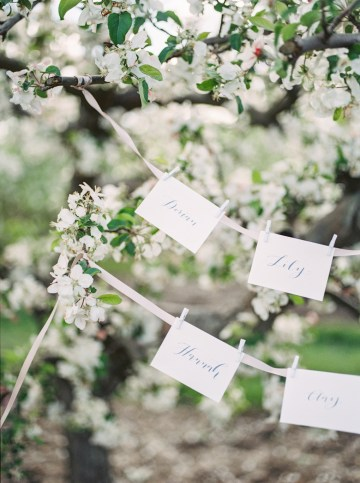 Bright and Colorful Apple Blossom Orchard Wedding Inspiration | Shanell Photography & Mitten Weddings and Events 54