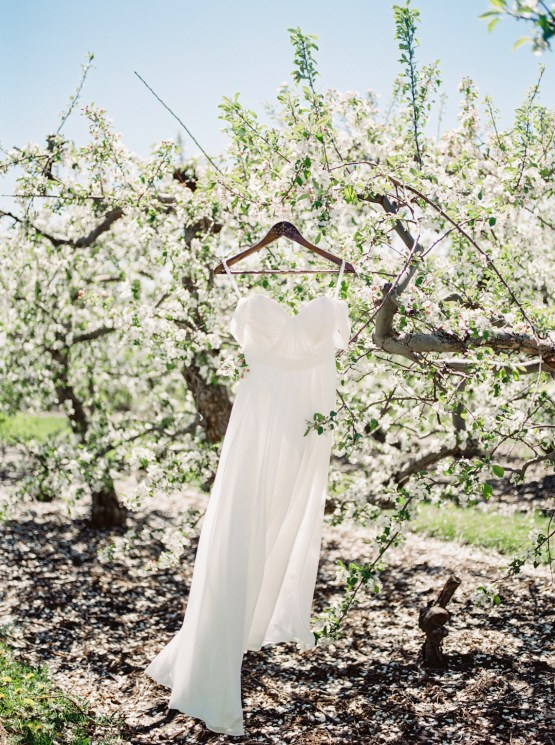 Bright and Colorful Apple Blossom Orchard Wedding Inspiration | Shanell Photography & Mitten Weddings and Events 61
