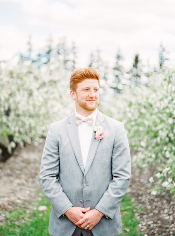 Bright and Colorful Apple Blossom Orchard Wedding Inspiration | Shanell Photography & Mitten Weddings and Events 65
