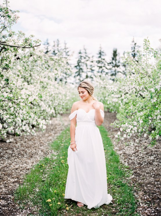 Bright and Colorful Apple Blossom Orchard Wedding Inspiration | Shanell Photography & Mitten Weddings and Events 66