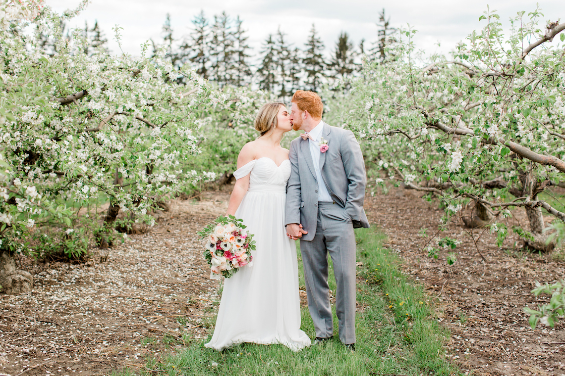 Bright and Colorful Apple Blossom Orchard Wedding Inspiration | Shanell Photography & Mitten Weddings and Events 72