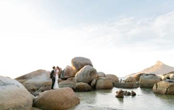 Cape Town Destination Wedding with Spectacular Mountain Views