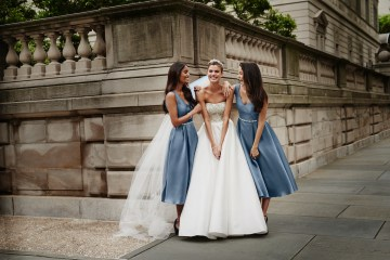 Classic Timeless Dresses For Your Royal Bridal Party | Oleg Cassini & David's Bridal 6
