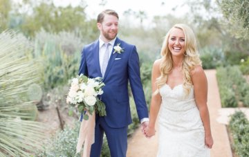 Dreamy Blush Pink Wedding in the Arizona Desert