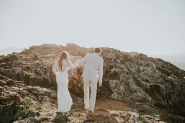 Free-Spirited & Panoramic Boho Wedding Inspiration | Sara Cuadrado and El Ramo Volador 3