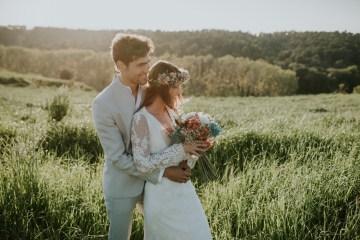 Free-Spirited & Panoramic Boho Wedding Inspiration | Sara Cuadrado and El Ramo Volador 33