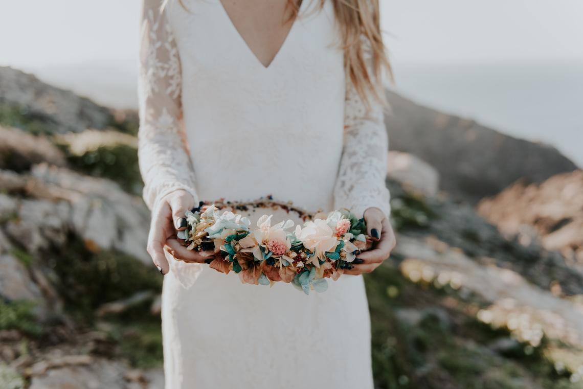 Free-Spirited & Panoramic Boho Wedding Inspiration   Sara Cuadrado and El Ramo Volador 5