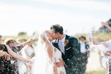 Fun, Scenic, Lakeside Wedding with Dried Floral Bouquets | Studio 1208 4