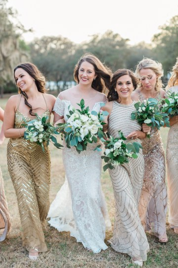 Gilded Florida Farm Wedding with an Adorable Golden Pup | Lauren Galloway Photography 40