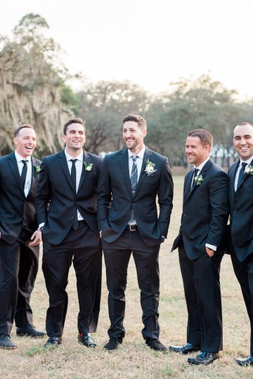 Gilded Florida Farm Wedding with an Adorable Golden Pup | Lauren Galloway Photography 43