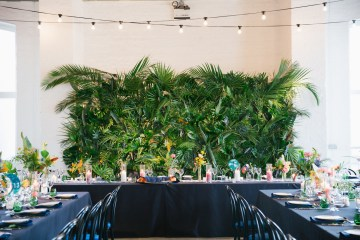 Jungle Wedding Inspiration from Knot & Pop 16