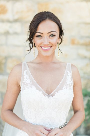 Romantic Gold, Grey and Berry Vineyard Wedding Inspiration | Jenny Quicksall & An Enlightened Event 36