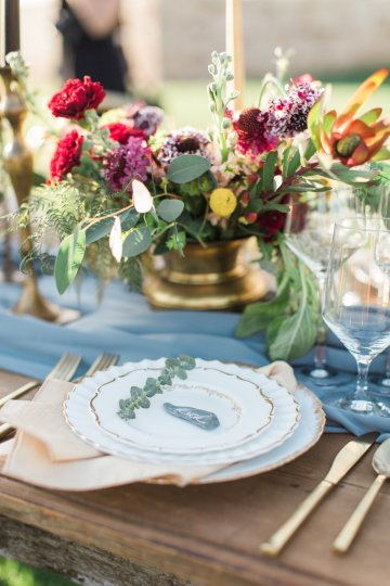Romantic Gold, Grey and Berry Vineyard Wedding Inspiration | Jenny Quicksall & An Enlightened Event 58