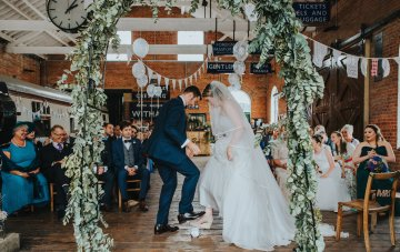 Eclectic & Fun Multicultural Wedding In A Train Station (That We Were Lucky Enough To Attend!)