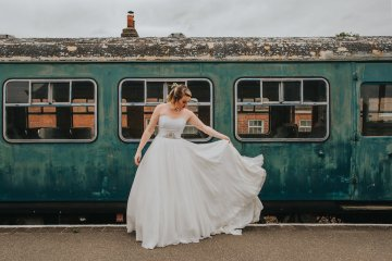 East Anglian Railway Museum Wedding | Remain in Light Photography | Bridal Musings 21