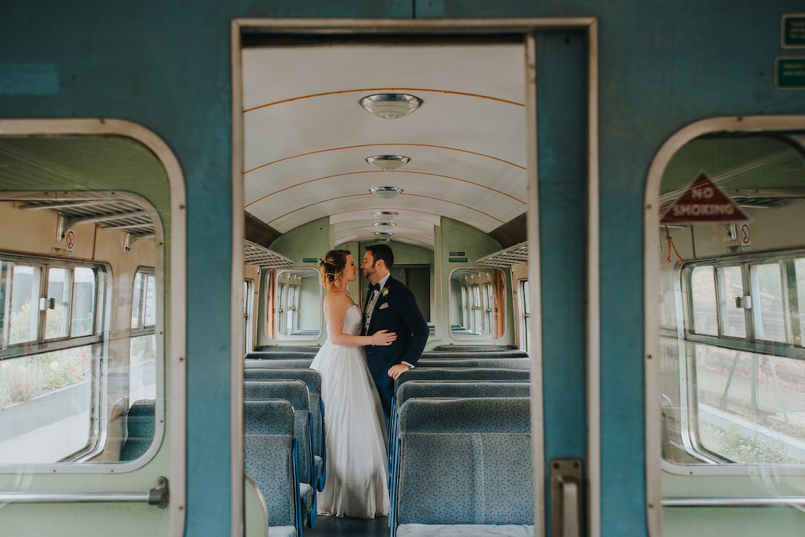 East Anglian Railway Museum Wedding | Remain in Light Photography | Bridal Musings 27