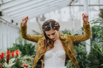 Festival Bridal Style For The Rock And Roll Bride 6