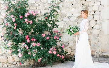 Gorgeous, Romantic French Vineyard Wedding Inspiration