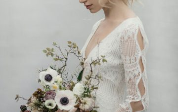 Modern Minimalist Styled Shoot Featuring Gowns For The Natural Bride | Cinzia Bruschini 28