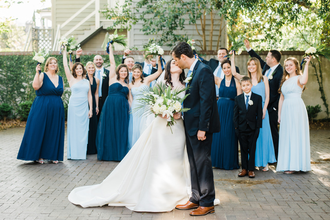 Shades of Blue Tropical Inspired Charleston Wedding - Bridal Musings