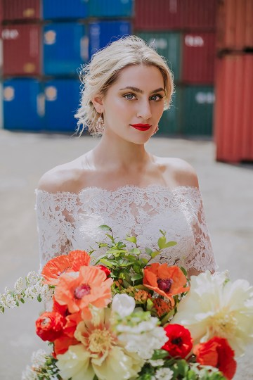 Stylish, Cool & Colorful Shipping Container Styled Shoot | Olive Studio 1