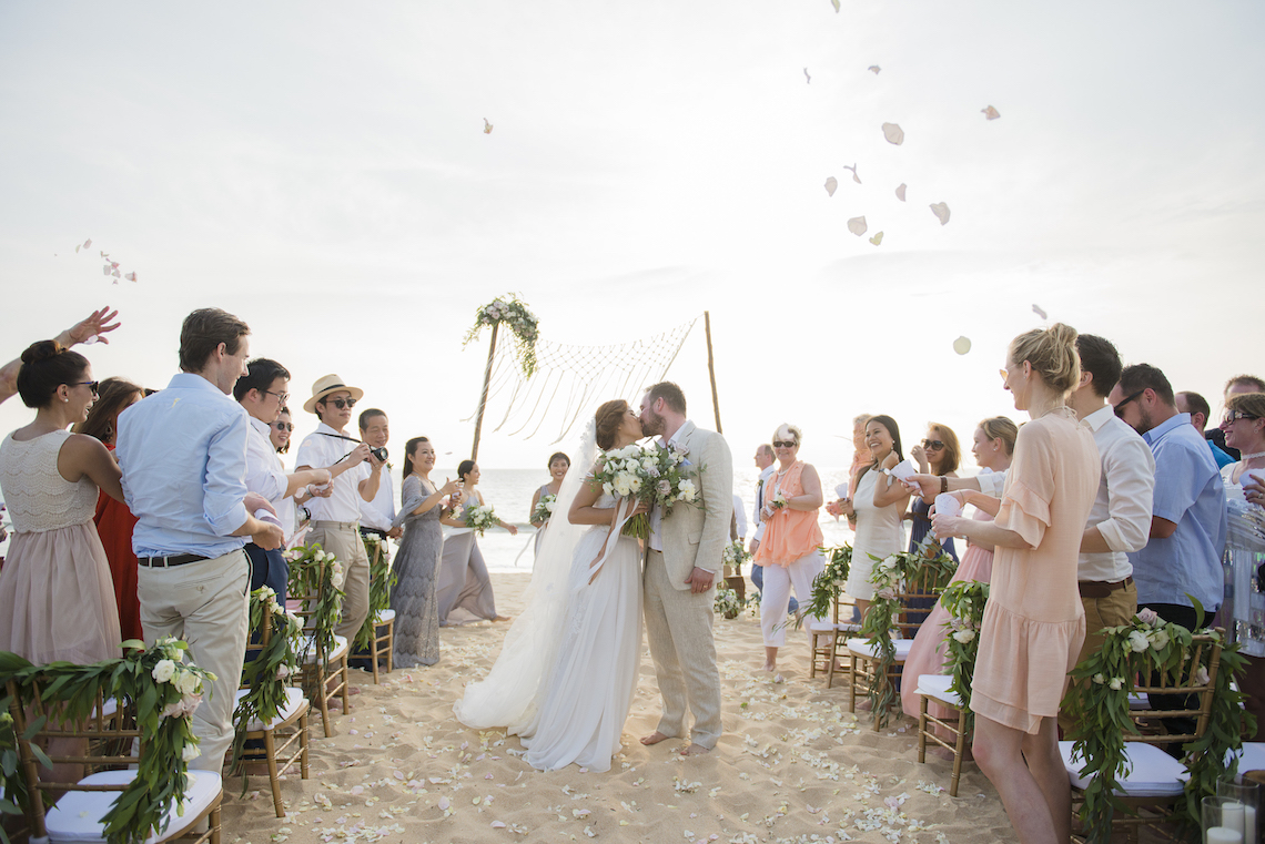 The Dreamiest Sunset Beach Wedding in Thailand | Darin Images 14