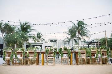 The Dreamiest Sunset Beach Wedding in Thailand   Darin Images 17