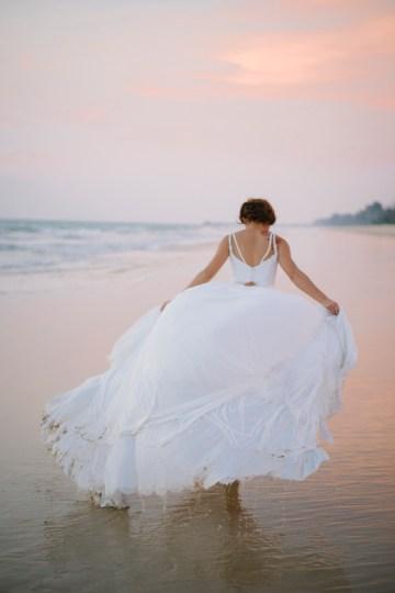 The Dreamiest Sunset Beach Wedding in Thailand   Darin Images 50