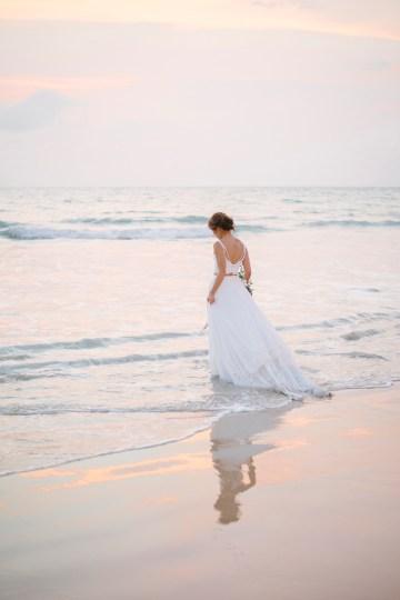 The Dreamiest Sunset Beach Wedding in Thailand   Darin Images 52