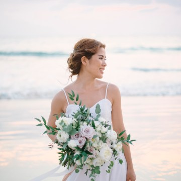 The Dreamiest Sunset Beach Wedding in Thailand | Darin Images 53